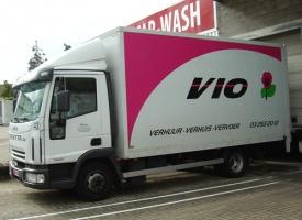 Wonderbaarlijk Verhuiswagen huren aan de beste prijs   Vio RI-14
